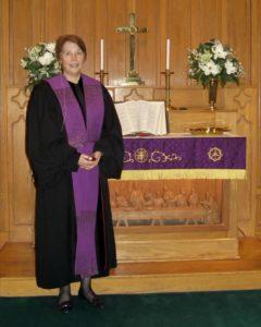 Bethel in black robe
