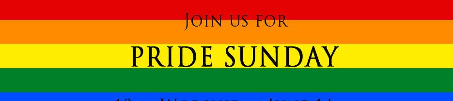 Pride Sunday!