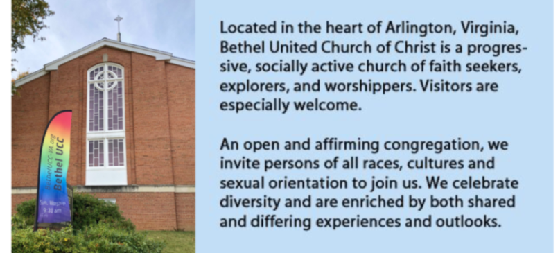Welcome to Bethel at the Church on the Hill