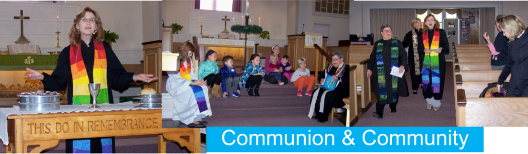Communion and Community Banner
